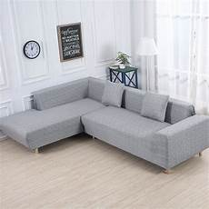 L Shaped Sectional Sofa Covers 3d Image by Sofa Covers For L Shape 2pcs Fabric Stretch
