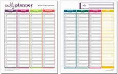 Weekly Planner Excel Template 10 Free Weekly Schedule Templates For Excel Savvy