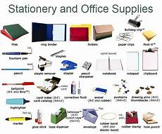 List Office Office Stationery Mariam S Blog To Learn Vocational English