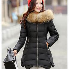 coats mujer feather collar winter jacket 2017 parkas for