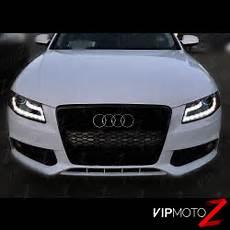 Audi A4 Prnds Lights 2009 2010 2011 Audi A4 S4 Quattro Black Led Drl Projector