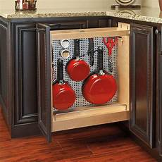 rev a shelf pull out wood base cabinet organizer wayfair