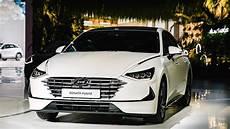 2020 hyundai sonata hybrid 2020 hyundai sonata turbo debuts in korea with 180 hp