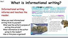 Informational Powerpoint Informational Writing Powerpoint By Mrs Gennaro Tpt