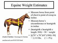 Healthy Horse Weight Chart Measuring Horse Weight Or Weight Calculator Very