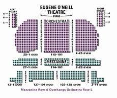 Seating Chart Eugene O Neill Theatre Eugene O Neill Theatre Seating Chart