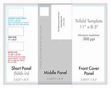 Tri Fold Brochure Dimensions 8 5 Quot X 11 Quot Tri Fold Brochure Template U S Press