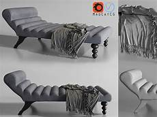 Navy Chaise Sofa 3d Image by 3d Model Modern Suede Chaise Lounge Studio Relaxing Chair