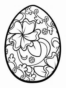 Coloring Eggs Easter Egg Coloring Pages Free Printable Easter Egg