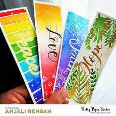 Make A Bookmarker How To Make A Set Of Watercolor Bookmarks Photo Tutorial