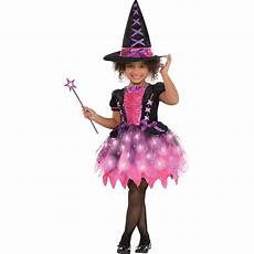 Light Up Halloween Accessories Light Up Sparkle Witch Halloween Costume For Girls Large