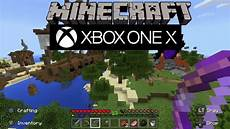 minecraft xbox one x gameplay in 1080p supersling