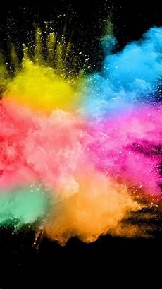 iphone xs max 8k wallpaper wallpaper colorful smoke splash abstract black