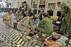 Air Force Flight Medics Reserve Aeromedical Team Trains At Global Medic Gt 446th
