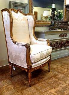 attractive antique wingback chair design inspiration with