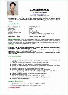 Curriculum Vitae Examples For Job Image Result For Indian Cv Samples Apply Job Teacher