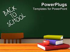 School Powerpoint Powerpoint Template Back To School Classroom With