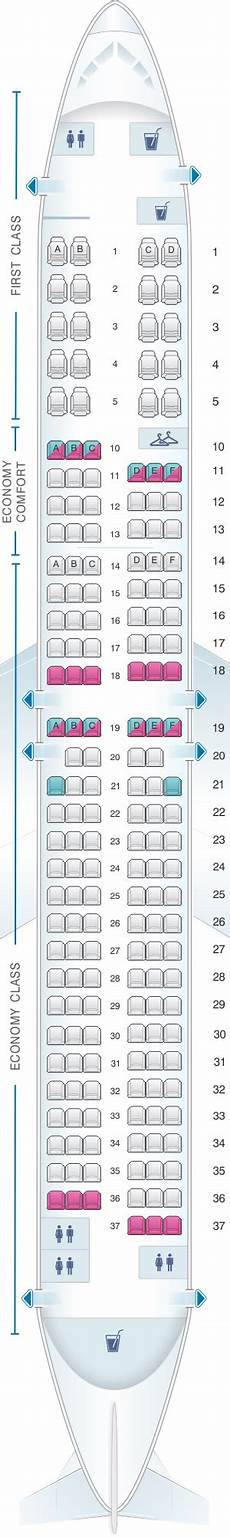 Delta Airlines Seating Chart Seat Map Delta Air Lines Boeing B737 900er 739 Seatmaestro