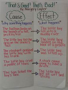 Cause And Effect Chart Foreman Teaches Cause And Effect Relationships And A