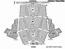 Greek Theater Seating Chart North Terrace Greek Theater Seating Chart