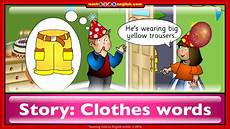 clothes story story for learning clothes words for with