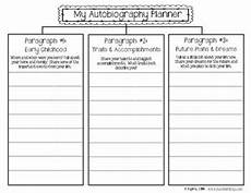 Autobiography Writing Template Autobiography Writing Planner And Templates