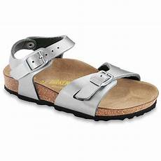 Birkenstock Latest Design Birkenstock Kids Rio 731483 Silver Girls Birkie Sandal Narrow