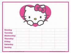 Hello Kitty Potty Training Chart Reward Chart Hello Kitty Hello Kitty Coloring Star