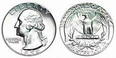 1932 D Quarter Value Chart 1950 D Washington Quarters Silver Composition Value And