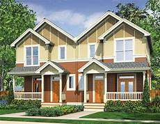 narrow lot multi family home 69464am architectural