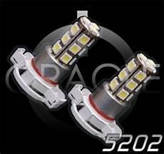 2010 Camaro Rs Fog Light Bulb 5202 Fog Light Upgrade Pair Of Led Bulbs Phastek