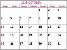 October 2015 Calendar Word October 2015 Calendar Doc In This Post We Re Sharing