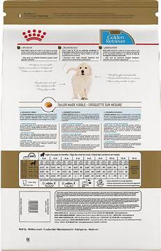 Royal Canin Golden Retriever Puppy Food Feeding Chart Royal Canin Golden Retriever Puppy Dry Dog Food 30 Lb Bag