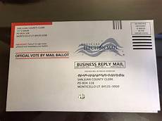 Return Envelope Updated Ballots Sent To Summit County Voters With