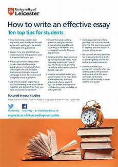 Effective Essay How To Write An Effective Essay Ten Top Tips For Students