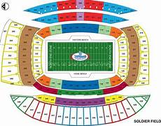 Soldier Field Seating Chart Soldier Field Chicago Il Seating Chart View