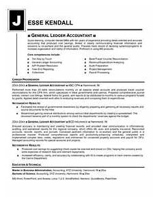 Resume Sample For Accountants General Ledger Accountant Resume Mike S Blog