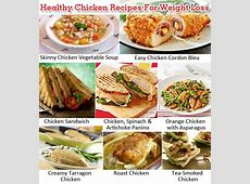 Healthy Chicken Recipes For Weight Loss