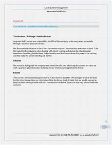 Credit Control Letter Case Studies On Credit Control
