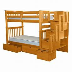 bedz king bunk bed with storage reviews wayfair
