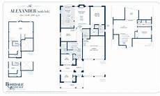 Bungaloft Floor Plans Rosedale