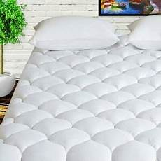 mattress pad 400tc cotton cooling cover pillowtop quilted
