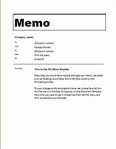 Memo Format For Word 24 Free Editable Memo Templates For Ms Word Word Amp Excel