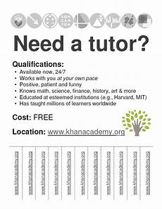 Math Tutor Flyer Examples High School Chemistry Algebra Art History These Video