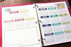 at a glance calendar 2020 printable 2019 2020 calendar template kindergartenworks