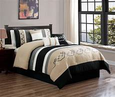 7 oversized bedding comforter sets luxury embroidery