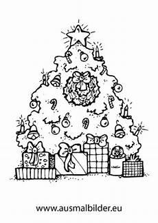 Ausmalbild Weihnachtsbaum Mit Geschenken Ausmalbilder Weihnachtsgeschenke Weihnachtsbaum Mit