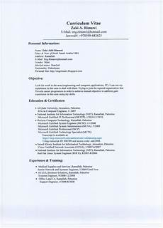 Sample Of A Cv How To Write Cv And Cv Examples How To Write A Cv 2020