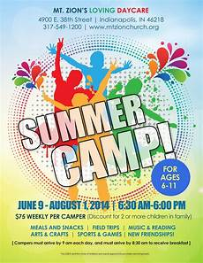 Summer Camp Pamplets Summer Camp Flyer Idea With Images Free Brochure