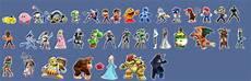 Super Smash Bros Character Chart Super Smash Bros For 3ds Amp Wii U Thread Xiii Leak